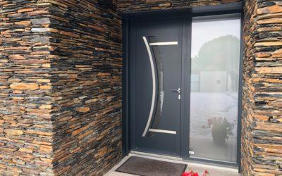 Pose de portes d'entrée